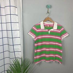 Lilly Pulitzer Striped Polo